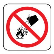 Fire Safety Sign - Fire Do Not Extinguish 022